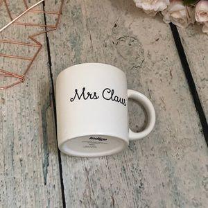 3/$25 Indigo Mrs Claus mug Christmas Santa holiday